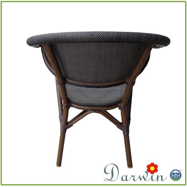 poudre enduit en aluminium rotin meubles de patio ext rieur dw zw112 chaise de jardin id de. Black Bedroom Furniture Sets. Home Design Ideas