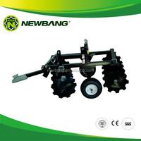 Small Disc Harrow for ATV and small garden tractor