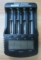 lcd display 3.7V ii-ion 18650 battery chargers