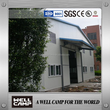 Sandwich panel foam steel sheet prefabricated house workshop/structure/ warehouse building