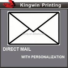 Aucun mail impression des autocollants. Vente en gros direct mail enveloppes 576 impression fournisseur de solution