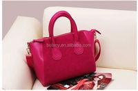 2014 Classic leather Handbag / Shoulder bag