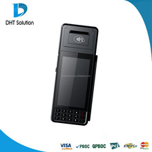 Tarjeta de crédito tarjeta de débito terminal de pago, impresora, 3 g, cámara, escáner de código de barras, EMV certificación ( DTPOS3385 )