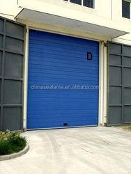 pu foam automatic garage door wood beaded curtain with ce