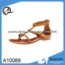 mujeres nuevas sandalias romanas