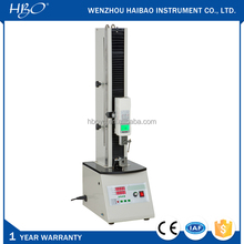 Electronic single column tensile and pressure strength tester, tension testing machine