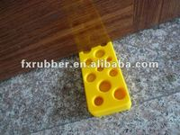 Eco-friendly & durable cheese Rubber Door Stopper/door Wedge with high quality