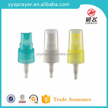 Yuyao fine mist sprayer free sample