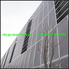 decorative curtain wall perforated mesh/aluminum expanded mesh