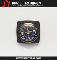 Jinyu mini plastic compass/small magnetic compass/compass for paracord bracelet