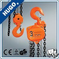 Used Construction Mini Chain Hoist block ,2 ton HS-VT Lifting Crane Equipment Hoisting