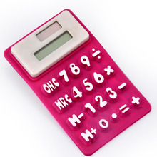 8 digit silicone solar calculator
