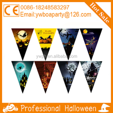halloween paper string flag