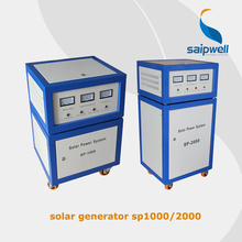 Saip/Saipwell 1kw off grid solar electricity generation system for home