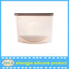 Eco-friendly food grade silicone food bag can storage bag with cheap price