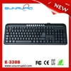 Latest computer multimedia keyboard with 9 hot keys