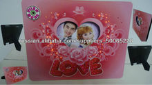 A5 size love photo frame with shining lights