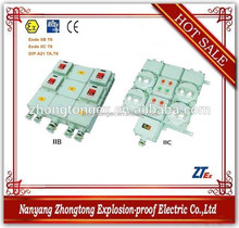 explosion proof electrical distribution box with flexible size for IIB IIC