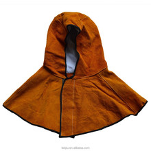 Leather Shoulder Cape and Hood