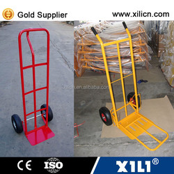Tool usage foldable hand trolley with two wheel HT1827