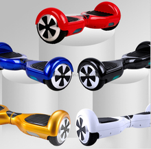 colorful hot sell china factory price 2 wheel 6.5inch hover self balancing electric