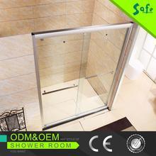 2015 aluminum sliding door cubicle frame bath shower screen