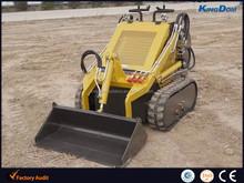 Mini pista skid steer loader