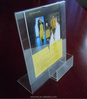 Economy Clear acrylic L- Frame, acrylic holder for photos or inserts