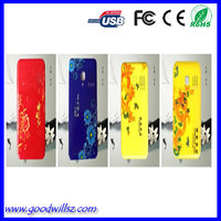 Gif Best sellng power bank for samsung galaxy s4 mini power bank 5600mAh