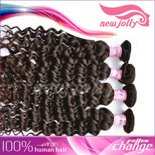 Delicate and elaborate made 26 inch brazilian curly hair piece for cheap