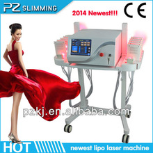 Zhengzhou pz laser slim technology co ltd . high quality lipo laser slimming machine