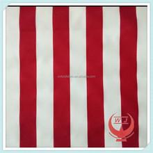 red white stripe waterproof awnings fabrics waterproof tent canopy fabric