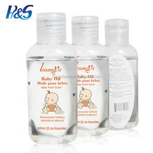 OEM &OBM Wholesale Moisturizing Smoothing Skin Care Baby Oil