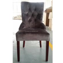 Estilo francês antigo cadeiras da sala de jantar restaurante de madeira cadeira