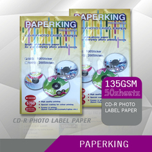 A4 135G/150G Premium Waterproof Self Adhesive Back, Sticker Inkjet Photo Paper From Guangzhou Top Manufacture