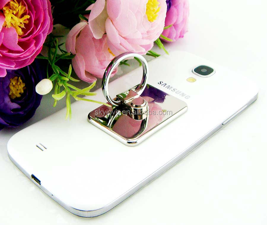 Creative Universal metal ring holder funny cell phone holder for desk