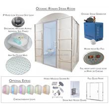 Mini Steam Room for Home Use, Shower Cabin Steam