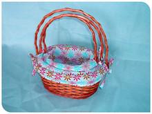 craft, wicker gift or food basket, wedding decorations
