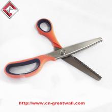 High quality of Zig zag scissors for fabric cutting, Pinking scissors