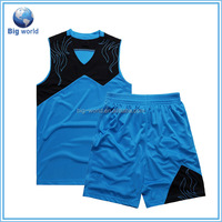 2015 new design basketball uniform, basketball jersey, custom basketball wear