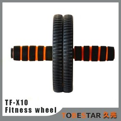 Fitness Exercise Crunch Home Gym Strength Fat Burner Abdominal Roller Abs Wheel