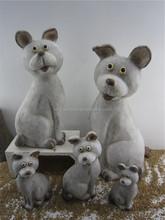 2015 Canton Fair cartoon decorative resin dogs