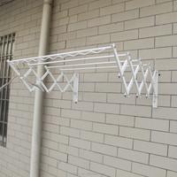 JHC-1002outdoor clothes drying racks/metal hanging clothes display racks/ceiling mounted clothes drying rack