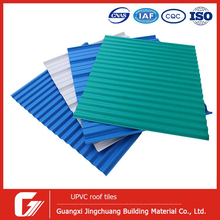 High quality PVC corrugated roofing sheets corrugated plastic roofing sheet