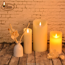 hot selling flameless wax led votive candle led wax candle/