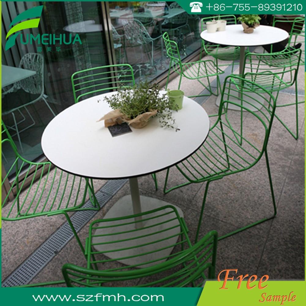 방수 정원 가구 야외 소형 라미네이트 테이블 플레이트-야외 ...