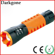 Highpower CREE XPE R2 resin holster zoom super led torch flashlight