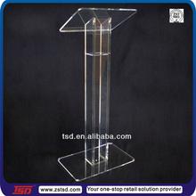 TSD-A493 pulpit stand/plexiglass pulpit/speech stand