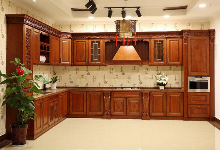 Oem modulaire cuisine design pour bois massif armoires de for Panneaux muraux cuisine