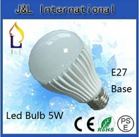 China wholesale ball bulb,5w LED ball bulb SMD2835 led E27 base bulb